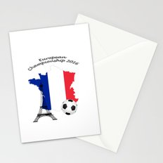 European Championship Football 2016 Stationery Cards