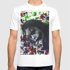 Colour Chaos SMALL White Mens Fitted Tee