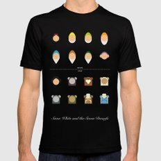 Famous Capsules - New Casting SMALL Black Mens Fitted Tee