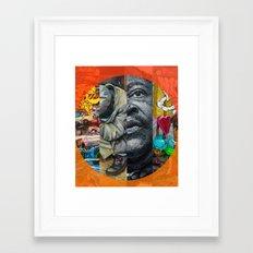 FLASHBACK Framed Art Print