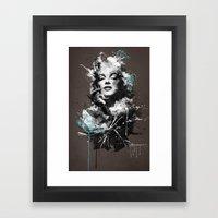 Marilyn. Framed Art Print