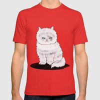 grumpy Mens Fitted Tee Red SMALL