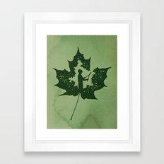 A New Leaf Framed Art Print