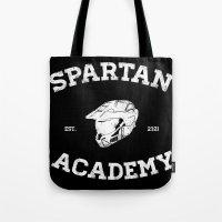 Spartan Academy Tote Bag