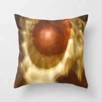Abstract Light Reflectio… Throw Pillow