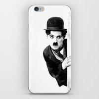 MR CHAPLIN iPhone & iPod Skin