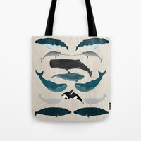 Whales - Pod Of Whales P… Tote Bag
