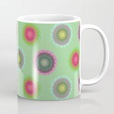 transparent floral pattern 4 Mug