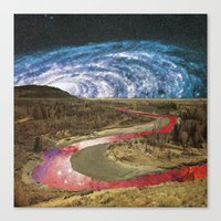 Space River Canvas Print