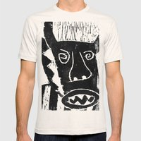 Bull Mens Fitted Tee Natural SMALL