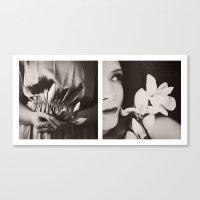 Bloom again Canvas Print