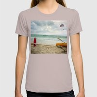 Fun In The Sun Womens Fitted Tee Cinder SMALL