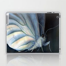 White Morpho Butterfly Laptop & iPad Skin
