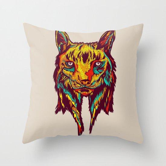 BE RARE* - Iberic Lince Throw Pillow