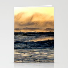 Sunset Wave Action Stationery Cards