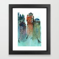 Hunters Framed Art Print