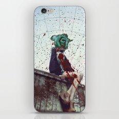 Bundenko street art iPhone & iPod Skin