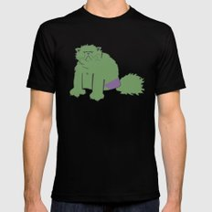 The Incatable Hulk Mens Fitted Tee Black SMALL