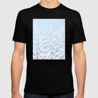 Blue Nature Mens Fitted Tee Black SMALL