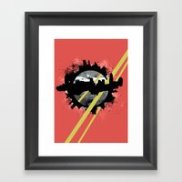 The Event Horizon Framed Art Print