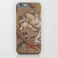 iPhone & iPod Case featuring mortem autem lupus by Megan Leitschuh