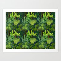 Endless Jungle Art Print