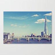 Canvas Print featuring London... by Chernobylbob