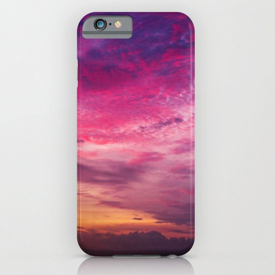 Red Sky Sunrise iPhone & iPod Case