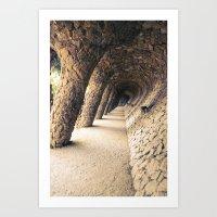 Colonnade Art Print