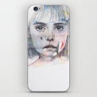 Little Girl's Shadow iPhone & iPod Skin