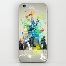 ABSTRACT - MONUMENT OF ST. WENCESLAS, PRAGUE iPhone & iPod Skin