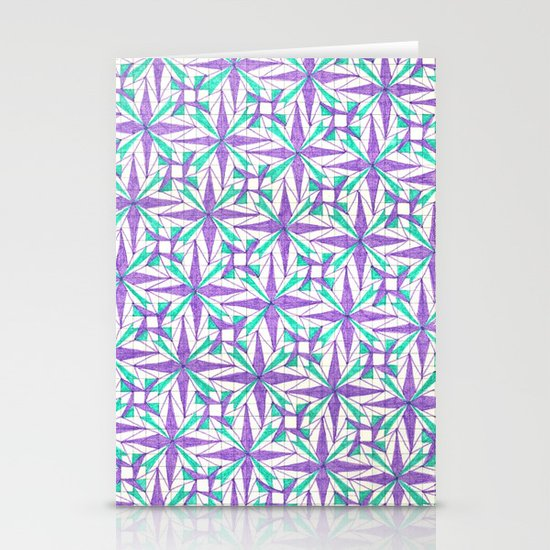 Easter Ribbons  Stationery Card