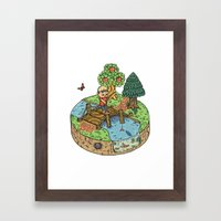 New Leaf Framed Art Print