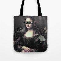 Mona Lisa SMILE Tote Bag