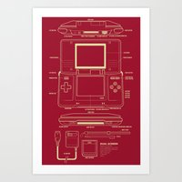 DS  Art Print