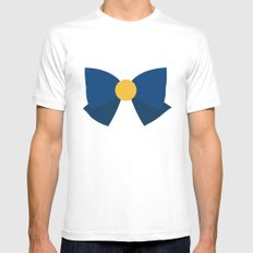 Sailor Venus Bow Mens Fitted Tee White SMALL
