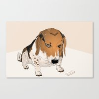 Beagle Bailey Canvas Print