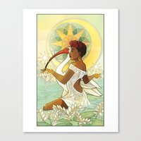 Tarot Series: The Star Canvas Print