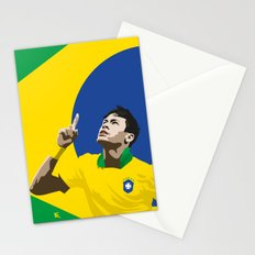 Neymar Brasil 2 Stationery Cards
