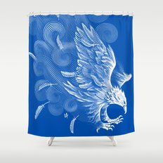 Windy Wings Shower Curtain