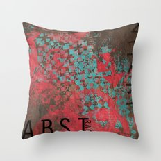ABSTract 373. Throw Pillow