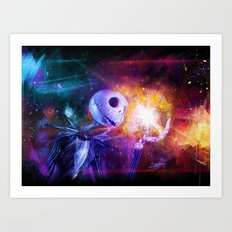Jack Skellington. Art Print