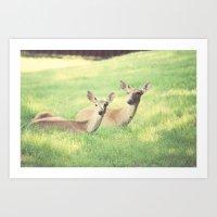 Oh, Deer Art Print