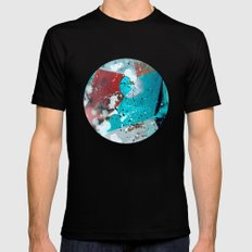 Kepler 186f I SMALL Black Mens Fitted Tee