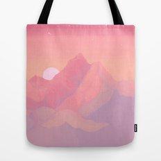 Peach Haze Tote Bag