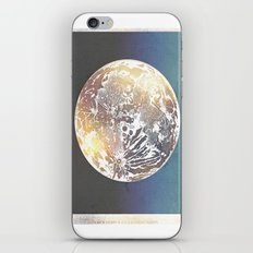 Map of the Moon iPhone & iPod Skin