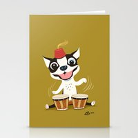 Boogie on Bongos Stationery Cards
