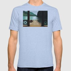 Lake Mens Fitted Tee Athletic Blue SMALL