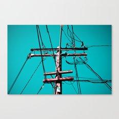 electric avenue Canvas Print