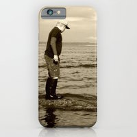 iPhone & iPod Case featuring A Boy and The Sea by NoelleB